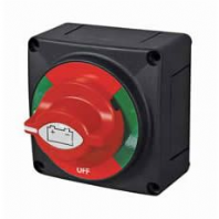 DURITE <br>0-605-12  Rotary Marine Battery Isolator with Fixed Control Knob  ALT/0-605-12-23